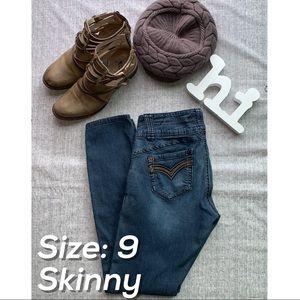 Size 9 Skinny Jeans by JOLT